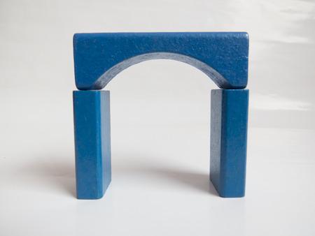 Blue  children constructor arch