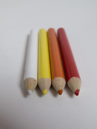 Hot colored pencils