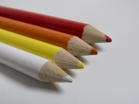 Hot colored pencils