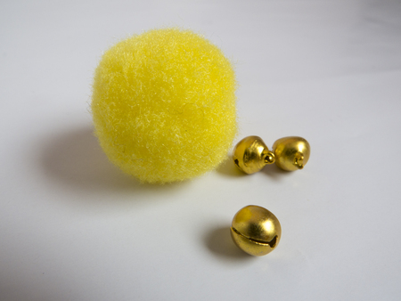 Golden tinkler bells and ball