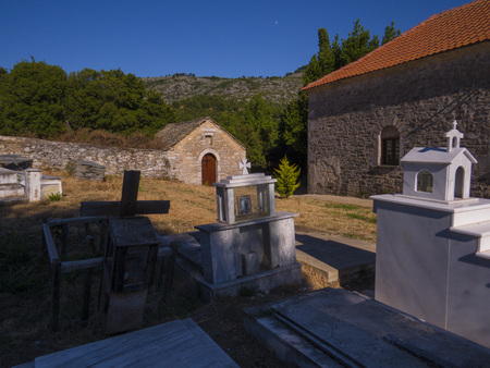 Rural church in Thassos island