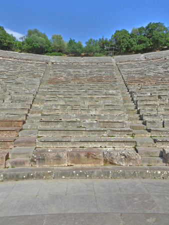 Epidavros amphitheatre Stock Photo - 80610596