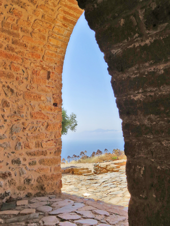 Monemvasia church Stock Photo - 80610599