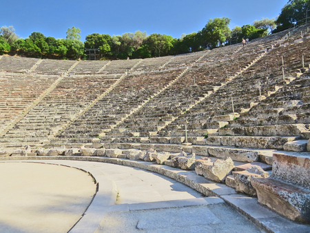 Epidavros amphitheatre Stock Photo - 80610605