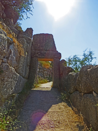 Ancient Mycenae Stock Photo - 80232421