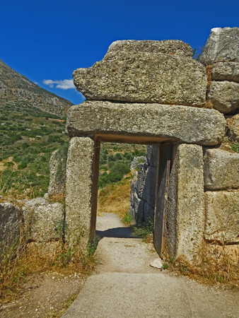 Ancient Mycenae Stock Photo - 80232420