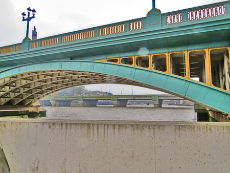 southwark: Southwark Bridge in London