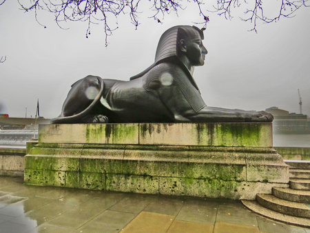 London  Egyptian sphinx
