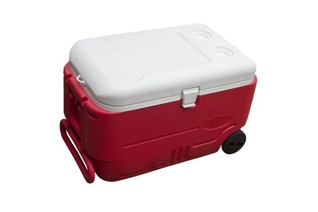 refrigerated: A food cooler