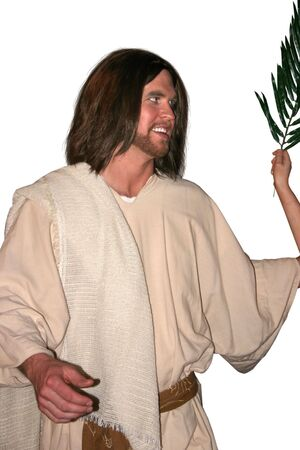 a smiling Jesus Stock Photo - 386434