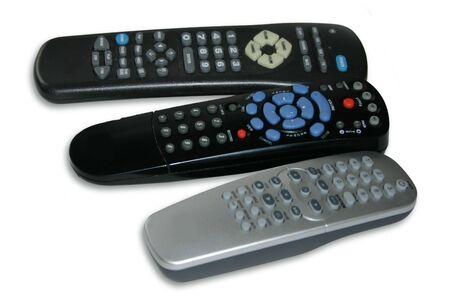 tv remotes: Three remotes