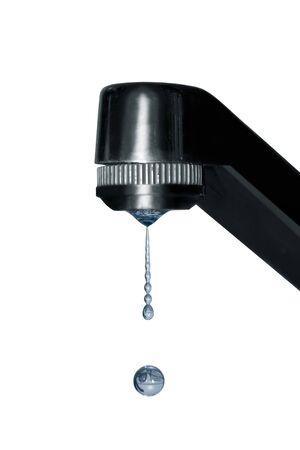 an old faucet dripping Reklamní fotografie