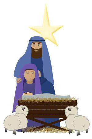 an illustration of  Jesus