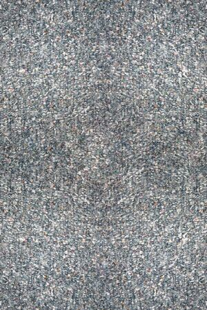 a background of a gray berber carpet Stock Photo