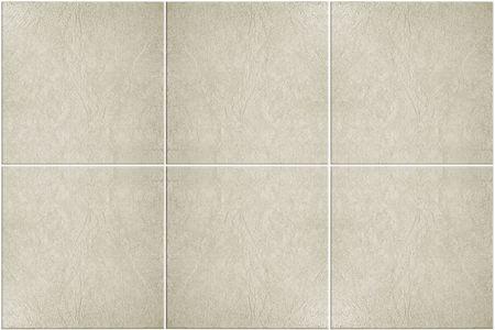 neutraal gekleurde vloer met witte specie