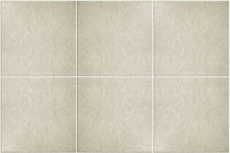 neutral colored floor tile with white grout Stock Photo - 884427