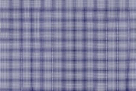 sackcloth: a blue plaid textured background Stock Photo