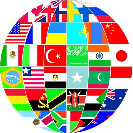 terrestre: bandiere