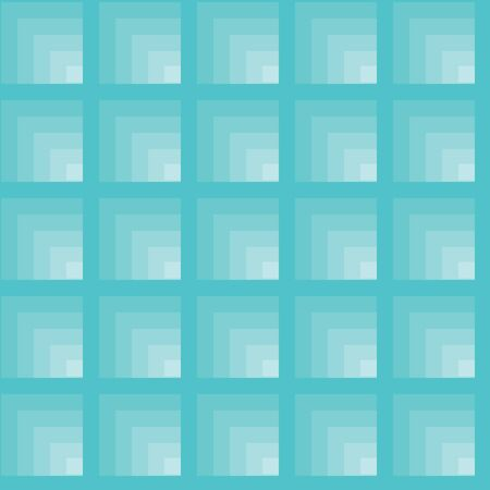 Blue tiles. Seamless vector pattern Stock Vector - 6155149