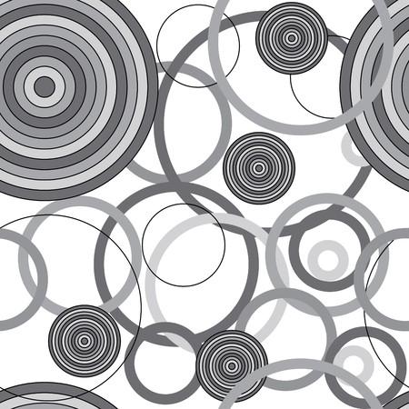uncolored: Textura transparente con c�rculos de blancos y negro