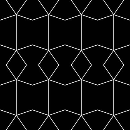 Retro black and white seamless background Stock Vector - 6221012
