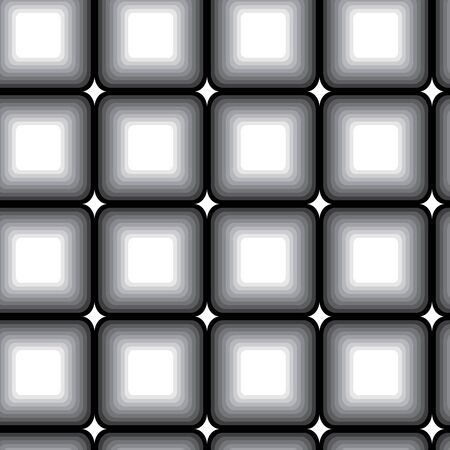 Retro black and white seamless background Stock Vector - 6290086