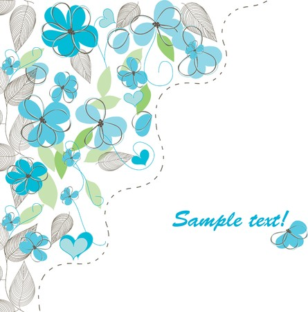 scroll background: Fondos florales rom�nticas