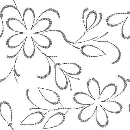 Floral seamless pattern Stock Vector - 8256847