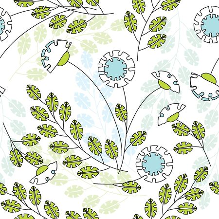 Floral seamless pattern Stock Vector - 8256905