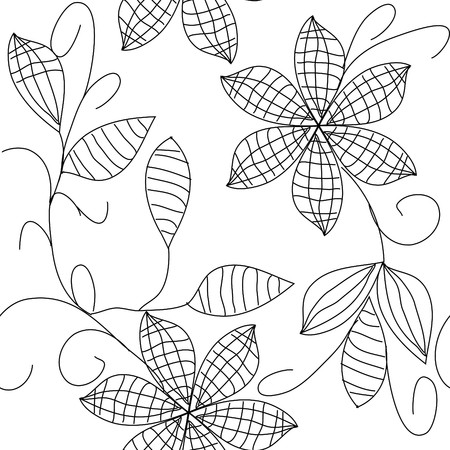 Floral seamless pattern Stock Vector - 8339452