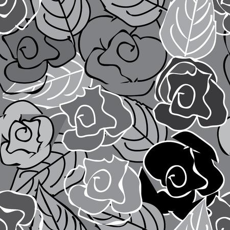 fondness: Floral seamless pattern