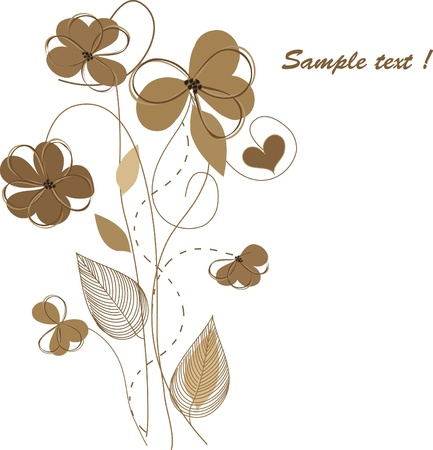 Romantic floral backgrounds