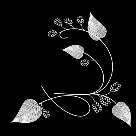 Stylish leaf backgrounds Stock Vector - 9314188