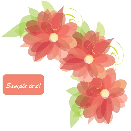 Floral backgrounds Illustration