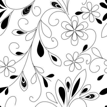 Floral seamless pattern Stock Vector - 9835312