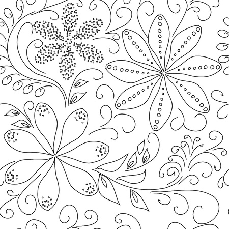 Floral seamless pattern Stock Vector - 10069829