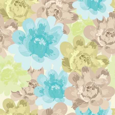 Floral seamless pattern Stock Vector - 10069838