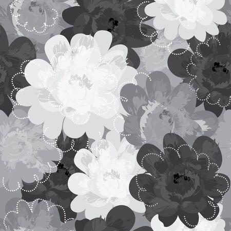 Seamless floral Ilustración de vector