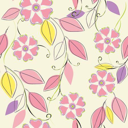 Flower seamless pattern Stock Vector - 10260208