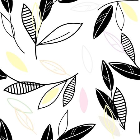 Abstract floral seamless pattern background Stock Vector - 10398199