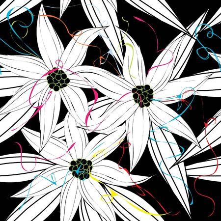 Floral nahtlose Muster Vektorgrafik