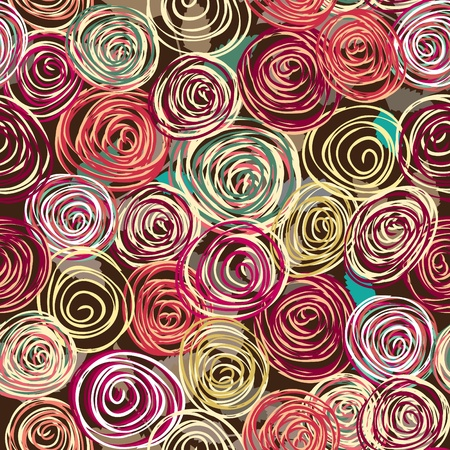 textiles: Abstract flower seamless pattern background