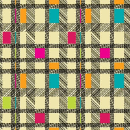 Abstract geometric background. Seamless pattern. Vector