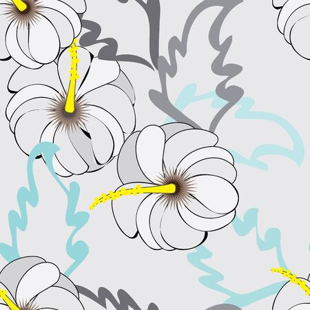 Abstract flower seamless pattern background Stock Vector - 11281562