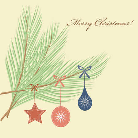 Abstract Christmas tree pattern background Ilustrace