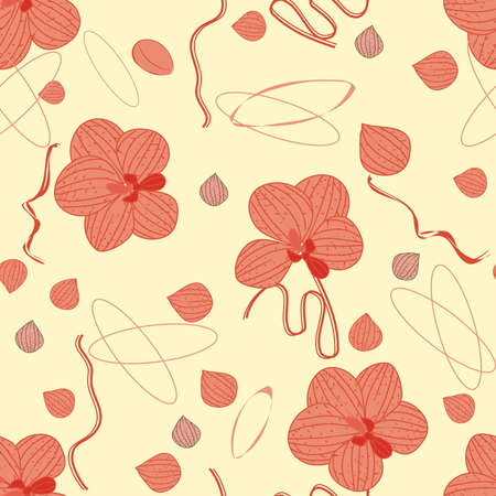 Orchid repetition Vector