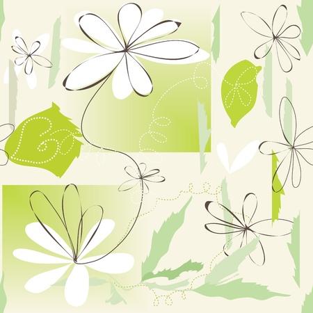 Flower seamless pattern Stock Vector - 12488521