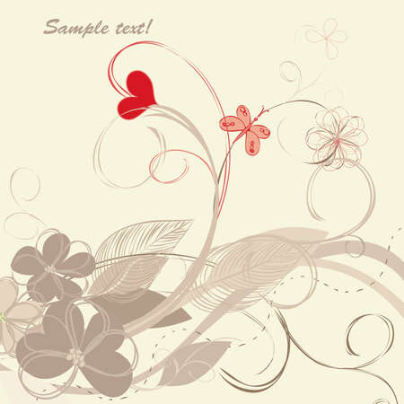 caress: Romantic floral backgrounds