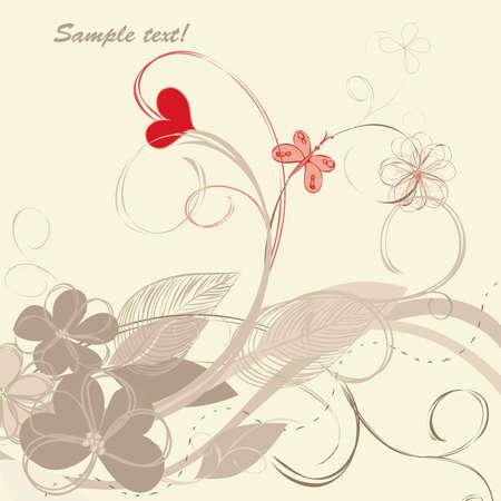 Romantic floral backgrounds