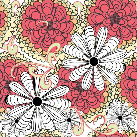 Floral seamless pattern Stock Vector - 12488626